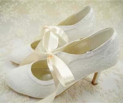 chaussure de mariage ivoire femmechaussure de mariee marquechaussures de mariee liege - Besson Chaussures Mariage