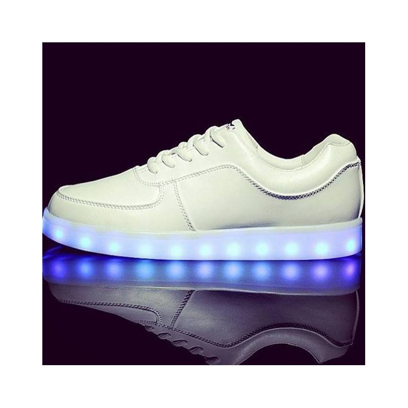 innovative design lower price with wide varieties chaussure Led Compenser Chaussure Blanche Amazon W2IYD9eEH