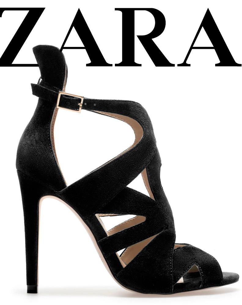 zara chaussures de soiree
