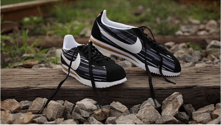 Nike Classic Cortez Leather chaussures blanc bleu